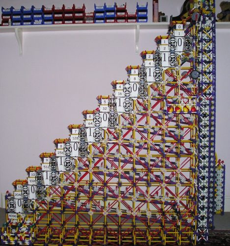 K'Nex Binary Machine