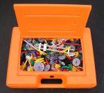 Orange Box of K'Nex