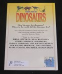 Cool Facts Dinosaurs Book (Back)