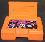 Orange Box of K'Nex