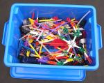 Blue Box of K'Nex